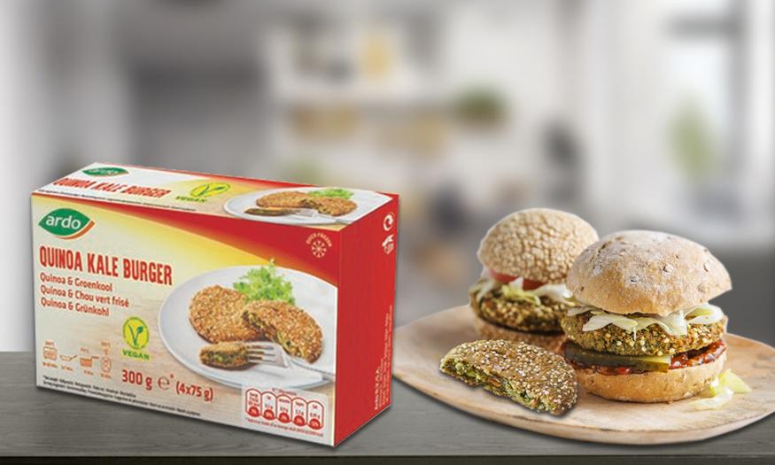 Ardo Quinoa & Kale Burger